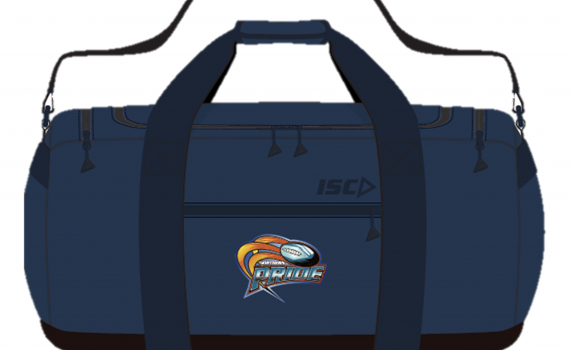 2020 Gear Bag (Navy) with Initials