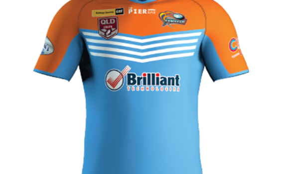 2020 Player-Worn Hastings Deering Colts Jersey (Away)